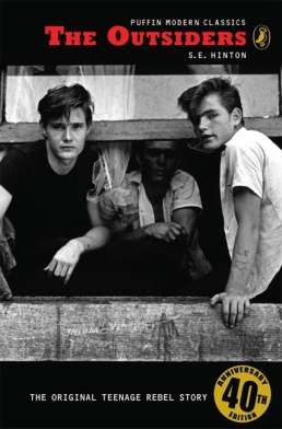 Image result for the outsiders book cover by s.e hinton